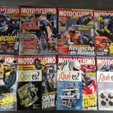 Coches y Motocicletas: LOTE REVISTA MOTOCICLISMO MOTO MOTOR AÑO 2000 8 EJEMPLARES SUPER OFERTA!!!. Lote 218781321