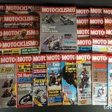 Coches y Motocicletas: LOTE REVISTA MOTOCICLISMO MOTO MOTOR AÑO COMPLETO 1981 47 EJEMPLARES SUPER OFERTA!!!. Lote 218782167