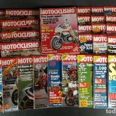 Coches y Motocicletas: LOTE REVISTA MOTOCICLISMO MOTO MOTOR AÑO CASI COMPLETO 1982 46 EJEMPLARES SUPER OFERTA!!!. Lote 218783078