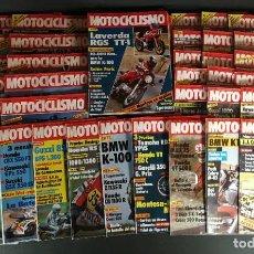 Coches y Motocicletas: LOTE REVISTA MOTOCICLISMO MOTO MOTOR AÑO CASI COMPLETO 1983 51 EJEMPLARES SUPER OFERTA!!!. Lote 218783866