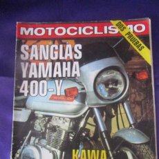 Coches y Motocicletas: MOTOCICLISMO Nº 588. 10 DICIEMBRE 1978. Lote 218787473