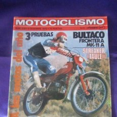 Coches y Motocicletas: MOTOCICLISMO Nº 636. 8 DICIEMBRE 1978. Lote 218787943
