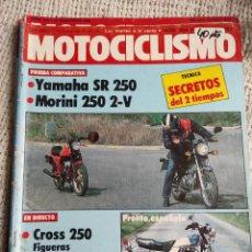 Voitures et Motocyclettes: MOTOCICLISMO Nº 804 1982, YAMAHA SR 250 MORINI 250 2V, SUZUKI GR 650, SITO PONS. Lote 218951790