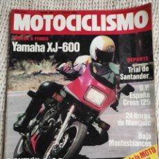 Coches y Motocicletas: MOTOCICLISMO Nº 861 - JUL 1984 - 24 HORAS MONTJUIC , YAMAHA XJ 600 , SUZUKI TGA 1 - HERON 500 GP. Lote 297017783
