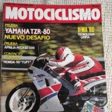 Coches y Motocicletas: MOTOCICLISMO Nº 1180 - OCTUBRE 1990 - YAMAHA TZR 80 / APRILIA PEGASO 600 / HONDA YUPI 90. Lote 218974048