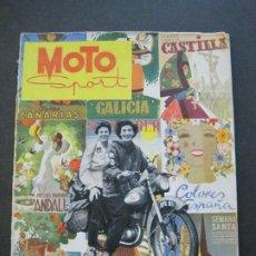 Coches y Motocicletas: MOTO SPORT-ABRIL 1952-REVISTA NUMERO 1-MOTOS-MOTOCICLISMO-VER FOTOS-(V-22.262). Lote 219225847