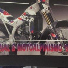 Coches y Motocicletas: CATALOGO MOTO BETA DE TRIAL Y MOTOALPINISMO - AÑO 1993. Lote 219646158