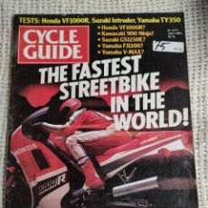 Voitures et Motocyclettes: CYCLE GUIDE JULY 1985 VOL 19 # 7 MOTORCYCLES CYCLING BIKE BIKING DIRT BIKES. Lote 219690256