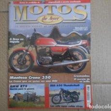 Coches y Motocicletas: LOTE 6 REVISTAS MOTOS DE AYER , Nº 60, 64, 72, 96, 89, 83. Lote 221472053