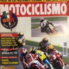 Coches y Motocicletas: LOTE REVISTAS MOTOCICLISMO. Lote 221508980