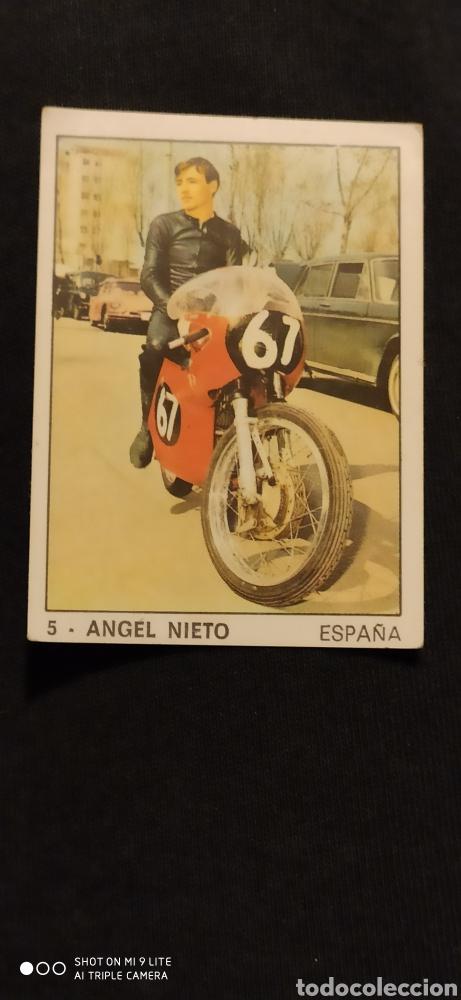 CROMO ÁNGEL NIETO PANINI (Coches y Motocicletas - Revistas de Motos y Motocicletas)