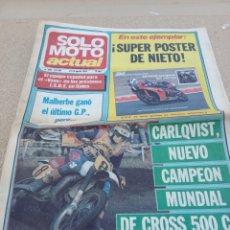 Coches y Motocicletas: REVISTA SOLO MOTO ACTUAL N.393 AÑO 1983. Lote 222525566