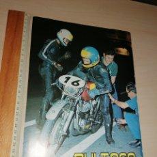 Coches y Motocicletas: RECORTE BULTACO 24 HORAS DE MONTJUIC 1969 Y 1972. Lote 222559240