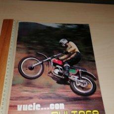 Coches y Motocicletas: RECORTE PUBLICIDAD BULTACO. Lote 222559300