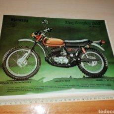 Coches y Motocicletas: RECORTE PUBLICIDAD MONTESA KING SCORPION 250. Lote 222559346