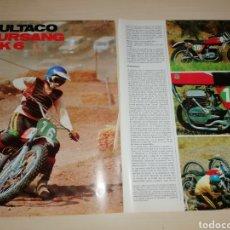 Coches y Motocicletas: RECORTE BULTACO PURSANG MK6. Lote 222559681