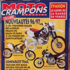 Coches y Motocicletas: MOTO CRAMPONS MAGAZINE #123 (6-1995). BUEN ESTADO, CON ALGO DE DESGASTE EN LA PORTADA. Lote 222818695
