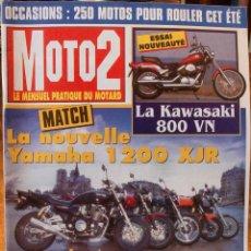 Coches y Motocicletas: MOTO2 #63 (5-1995). MUY BUEN ESTADO. Lote 222819970