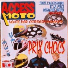 Coches y Motocicletas: ACCESS MOTO 1995 - CATÁLOGO FRANCÉS DE VENTA POR CORRESPONDENCIA DE ACCESORIOS MOTO. Lote 222822271