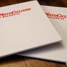 Coches y Motocicletas: LOTE DE 2 ARCHIVADORES PARA LA REVISTA MOTOCICLISMO CLÁSICO. Lote 222913242