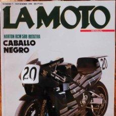 Coches y Motocicletas: LA MOTO #7 11/90. EXCELENTE ESTADO. Lote 223293157