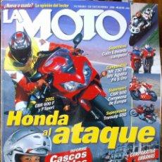 Coches y Motocicletas: LA MOTO #128 12/00. EXCELENTE ESTADO. Lote 224943780