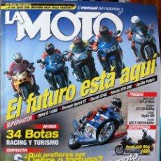 Coches y Motocicletas: LA MOTO #136 8/01. EXCELENTE ESTADO. Lote 224944036