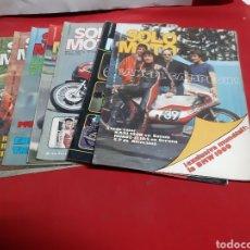 Coches y Motocicletas: LOTE DE 7 REVISTAS SOLO MOTO AÑO 1976. Lote 225035390