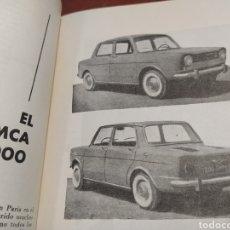 Coches y Motocicletas: SIMCA 1000 TÉCNICA MECÁNICA 1962. Lote 225072950