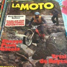 Coches y Motocicletas: REVISTA LA MOTO AÑO 76. Lote 225134875