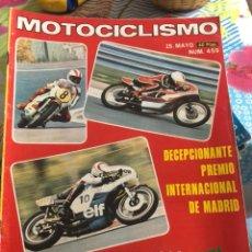 Coches y Motocicletas: REVISTA MOTOCICLISMO NÚMERO 459. Lote 225135473