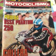 Coches y Motocicletas: REVISTA MOTOCICLISMO NÚMERO 499. Lote 225135732
