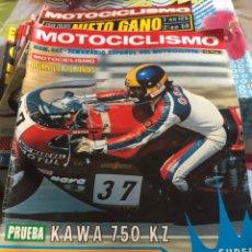 Coches y Motocicletas: REVISTA MOTOCICLISMO NÚMERO 462. Lote 225135885