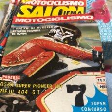 Coches y Motocicletas: REVISTA MOTOCICLISMO NÚMERO 463. Lote 225136171