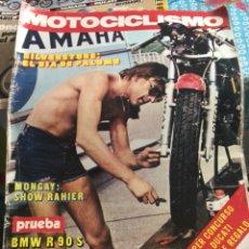 Coches y Motocicletas: REVISTA MOTOCICLISMO NÚMERO 473. Lote 225136430