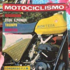 Coches y Motocicletas: REVISTA MOTOCICLISMO NÚMERO 586. Lote 225136680