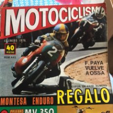 Coches y Motocicletas: REVISTA MOTOCICLISMO NUM 445. Lote 225177793