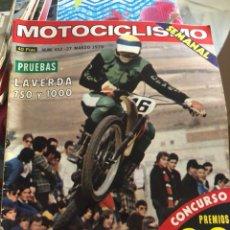 Coches y Motocicletas: REVISTA MOTOCICLISMO NUM 452. Lote 225178412