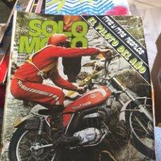 Coches y Motocicletas: REVISTA SOLO MOTO NUM 17. Lote 225178697