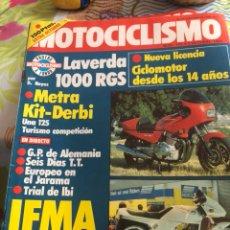 Coches y Motocicletas: REVISTA MOTOCICLISMO NUM 770. Lote 225179070