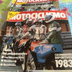 Coches y Motocicletas: REVISTA MOTOCICLISMO NUM 782. Lote 225179340