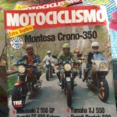 Coches y Motocicletas: REVISTA MOTOCICLISMO NUM 718 EXTRA SEPTIEMBRE. Lote 225180285