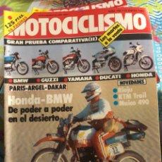 Coches y Motocicletas: REVISTA MOTOCICLISMO NUM 785. Lote 225180560