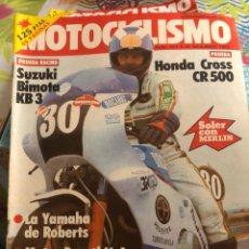 Coches y Motocicletas: REVISTA MOTOCICLISMO NUM 781. Lote 225180865