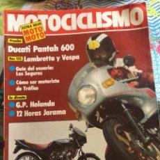 Coches y Motocicletas: REVISTA MOTOCICLISMO NUM 759. Lote 225181400