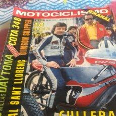 Coches y Motocicletas: REVISTA MOTOCICLISMO NUM 450. Lote 225183245