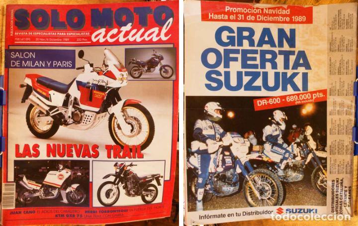 SOLO MOTO ACTUAL #708. ESTADO REGULAR (Coches y Motocicletas - Revistas de Motos y Motocicletas)