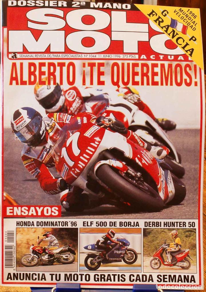 SOLO MOTO ACTUAL #1044. MUY BUEN ESTADO (Coches y Motocicletas - Revistas de Motos y Motocicletas)