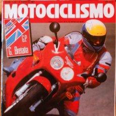 Coches y Motocicletas: MOTOCICLISMO #1224 8/8/91. BUEN ESTADO. Lote 227107710