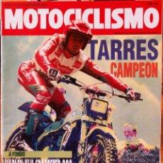 Coches y Motocicletas: MOTOCICLISMO #1228 5/9/91. BUEN ESTADO. Lote 227107875